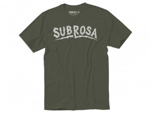 "Subrosa Bikes ""Voltage"" T-Shirt - Army Green"