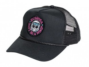 "Subrosa Bikes x Radical Rick ""No Wimps Trucker"" Kappe - Black"