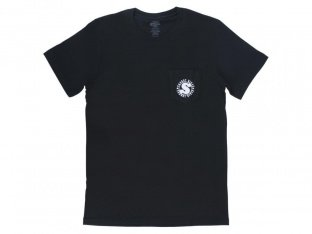 "Sunday Bikes ""Badge Pocket"" T-Shirt - Black"