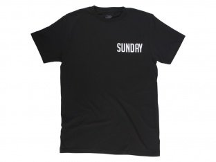 "Sunday Bikes ""Badge"" T-Shirt - Black"