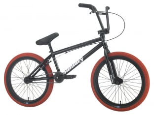"Sunday Bikes ""Blueprint"" 2021 BMX Bike - Black/Red"