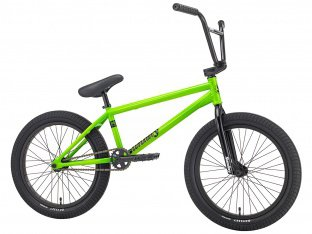 "Sunday Bikes ""Forecaster Aaron Ross"" 2018 BMX Bike - Fluorescent Green 