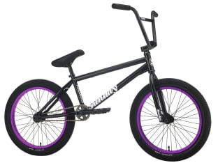 "Sunday Bikes ""Forecaster Alec Siemon"" 2021 BMX Bike - Gloss Black/Purple 