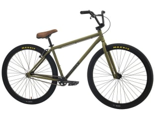 "Sunday Bikes ""High C 29"" 2021 BMX Cruiser Rad - Matte Army Green 