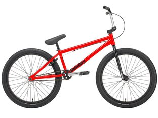"Sunday Bikes ""Model C"" 2019 BMX Cruiser Bike - Limited Red 