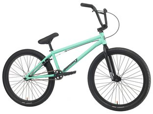"Sunday Bikes ""Model C 24"" 2020 BMX Cruiser Bike - Gloss Toothpaste 