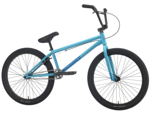 "Sunday Bikes ""Model C 24"" 2021 BMX Cruiser Bike - Gloss Surf Blue 