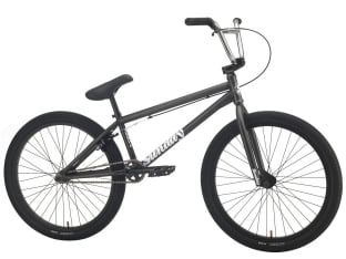 "Sunday Bikes ""Model C 24"" 2021 BMX Cruiser Bike - Trans Dark Grey 