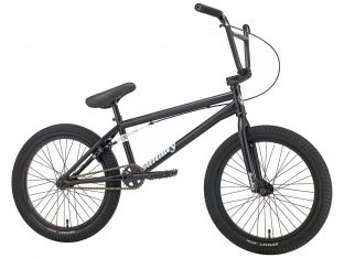 "Sunday Bikes ""Scout"" 2018 BMX Bike - Semi Matte Black"