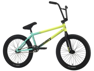 "Sunday Bikes ""Street Sweeper LHD Jake Seeley"" 2021 BMX Rad - Matte Green Fade 