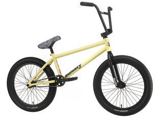 "Sunday Bikes ""Street Sweeper RHD Jake Seeley"" 2020 BMX Rad - Matte Yellow 