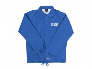 "Sunday Bikes ""Strength Security"" Coach Jacket - Royal Blue"
