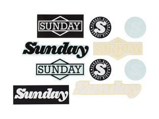 "Sunday Bikes ""Vinyl"" Stickerset"