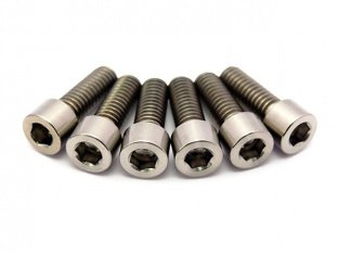 "TLC Bikes ""Profile/Madera Titanium"" Stem Bolts Kit"