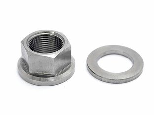 "TLC Bikes ""Titanium 14mm"" Axle Nut"