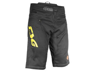 "TSG ""AK3 Bike"" Kurze Hose - Black/Yellow"
