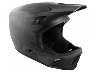 "TSG ""Advance Carbon Graphic Design"" Fullface Helm - Streak-Black"