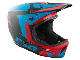 "TSG ""Advance Graphic Design"" Fullface Helm - Buzz-Red-Blue"