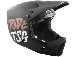 "TSG ""Advance Graphic Design"" Fullface Helm - Ripped Black-Copper"