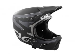 "TSG ""Advance Graphic Design"" Fullface Helm - Streak Black-Grey"