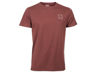 "TSG ""Box"" T-Shirt - Oxblood"