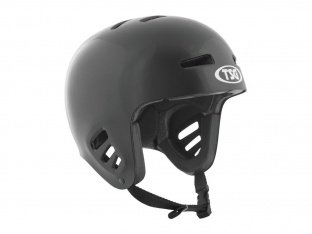 "TSG ""Dawn Flex Solid Colors"" Helm - Black"