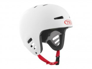 "TSG ""Dawn Flex Solid Colors"" Helm - White"