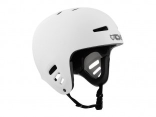 "TSG ""Dawn Solid Colors"" Helm - White"