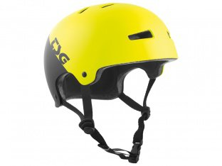 "TSG ""Evolution Graphic Design"" Helmet - Divided Acid Yellow/Black"