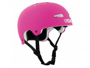 "TSG ""Evolution Solid Colors"" Helm - Flat Fuchsia"