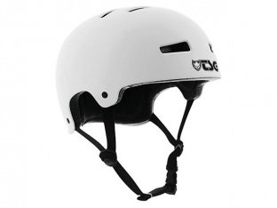 "TSG ""Evolution Solid Colors"" Helm - Flat White"