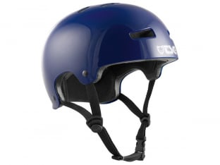 "TSG ""Evolution Solid Colors"" Helmet - Gloss Evo Blue"