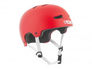 "TSG ""Evolution Solid Colors"" Helmet - Satin Fire Red"