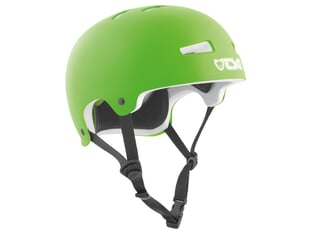 "TSG ""Evolution Solid Colors"" Helm - Satin Lime Green / White EPS"