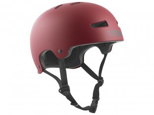 "TSG ""Evolution Solid Colors"" Helm - Satin Oxblood"
