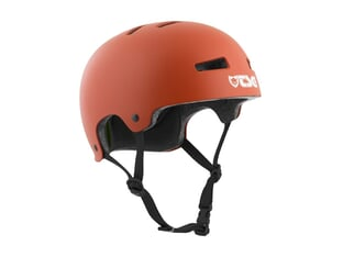 "TSG ""Evolution Solid Colors"" Helm - Satin Rusty Red"
