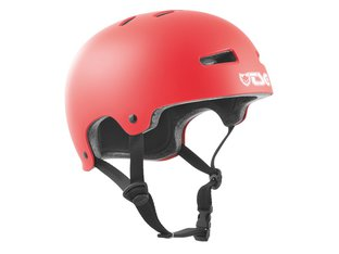 "TSG ""Evolution Solid Colors"" Helm - Satin Sonic Red"