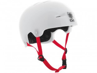 "TSG ""Evolution Special Makeup"" Helm - Clear White"