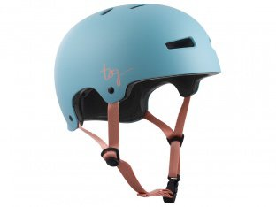 "TSG ""Evolution Women Solid Color"" Helmet - Satin Porcelain Blue"