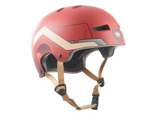 "TSG ""Evolution Youth Graphic Design"" Helm - Steel"