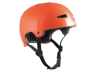 "TSG ""Evolution Kids Solid Color"" Helm - Gloss Orange"