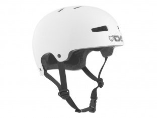 "TSG ""Evolution Youth Solid Color"" Helm - Injected White"