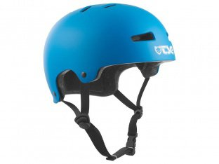 "TSG ""Evolution Youth Solid Color"" Helm - Satin Dark Cyan / Black EPS"