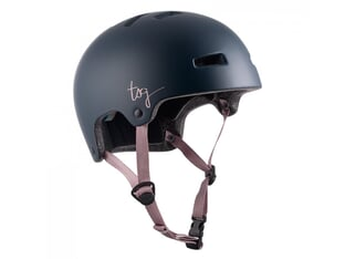 "TSG ""Ivy Women Solid Color"" Helm - Satin Black Iris"