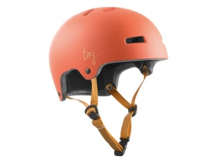 "TSG ""Ivy Women Solid Color"" Helmet - Satin Light Papaya"