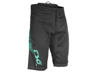 "TSG ""MJ2 Bike"" Shorts - Black/Turquoise"