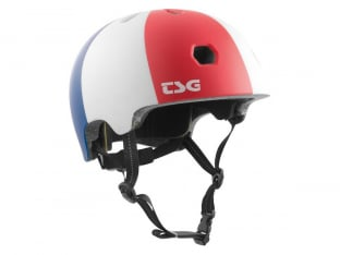 "TSG ""Meta Graphic Design"" Helmet - Globetrotter"
