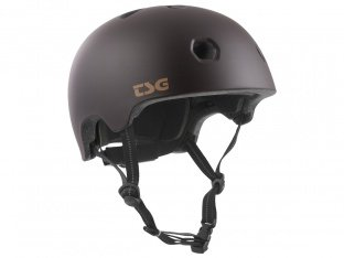 "TSG ""Meta Solid Colors"" Helm - Satin Black Chocolate"