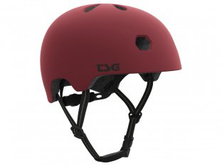 "TSG ""Meta Solid Colors"" Helm - Satin Oxblood Red"