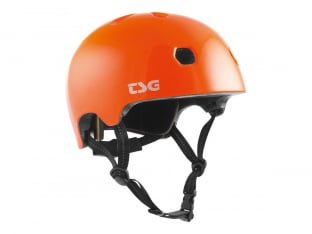 "TSG ""Meta Youth Solid Color"" Helmet - Gloss Orange"